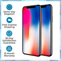 Apple iPhone X A1865 64GB 256GB All Colours AU Stock